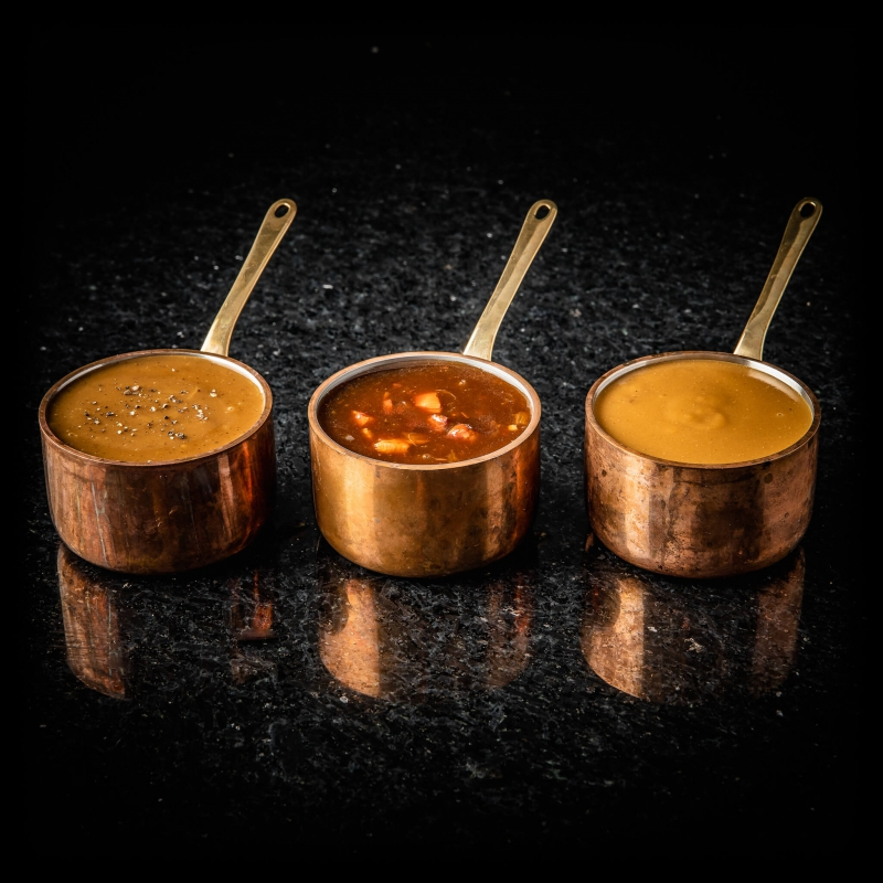 Le trio de sauces
